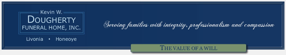 Kevin W. Dougherty Funeral Home, Inc. - Livonia & Honeoye, New York
